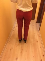 Rote Lederhose