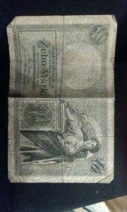 Diverse Reichsbanknoten