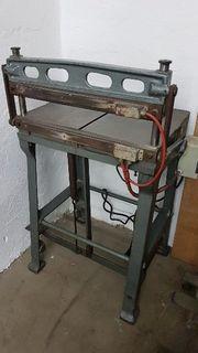 Falz-Einbrennmaschine K Tränklein