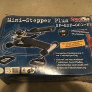 Mini-Stepper mit 2 Powerbänder