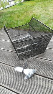 Gebrauchter BASIL Hinterrad-Korb für Schultaschen