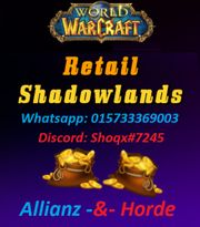 WoW Shadowlands Gold - Server deiner