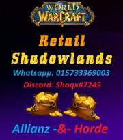 WoW Shadowlands Gold - Server deiner