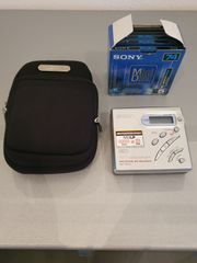 Portabler Sony Mini Disc Rekorder