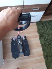 Stepper mit Computer und Handzügen