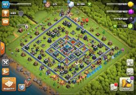 near max Rathaus 13 Helden 75/74/50/20 Clash of Clans Account COC