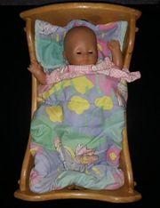 Zapf Creation Puppe im Holz