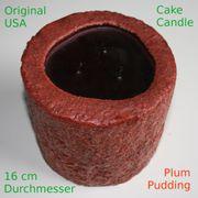Duftkerze Cake Candle Plum Pudding