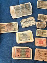 Inflations- Notgeld Darlehenskassenscheine