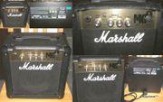Verkaufe Gitarrenverstärker Übungsamp Marshall MG