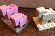 Lego Minecraft Tiere Schwein Baby