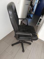 Kostenloser Bürostuhl schwarz