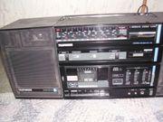 Kofferradio Telefunken mit boxen