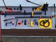 Schmiedewerkzeug Komplett Set für Kaltschmiedearbeiten