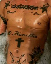 Tattoos XXL Fahrer und Aufpasser
