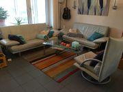 Designer Sofa Gruppe Rolf Benz
