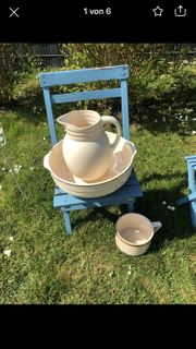 Altes Wasch-Set