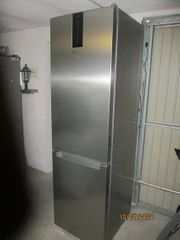 Kühl- Gefrier-Kombination NoFrost Edelstahl