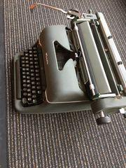 Seltene Schreibmaschine