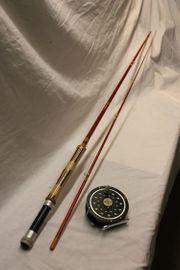 Fliegenrute m Rolle Sammler Angler