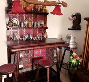 Antike Bar - Spanischer Stil Hocker