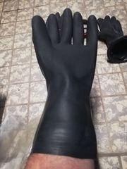 Kallweit Dryglove Ersatzhandschuh schwarz
