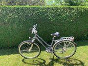 Drei Fahrräder 1x Herren 2x