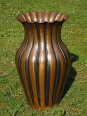 Vase Bodenvase Kupfer Kupfervase Kupferbodenvase