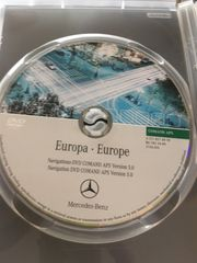 DVD NAVIGATION MERCEDES COMAND APS