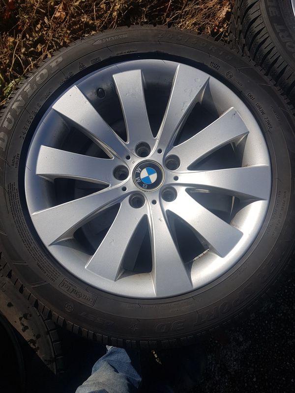 4 Winterkompletträder BMW 245 50