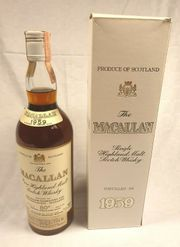Macallan Single Malt 1959