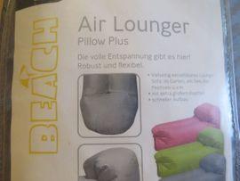 Crane Air Lounger Pillow Plus: Kleinanzeigen aus Heidelberg Rohrbach - Rubrik Campingartikel