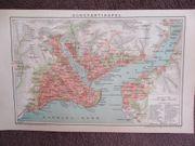 Konstantinopel Stadtplan 1895 Istanbul