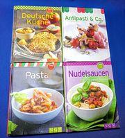 4 Minikochbücher neu