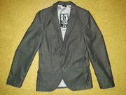 Jungen Jacket anthrazit Gr 158