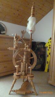 Wunderschönes Spinnrad