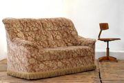 Couch Landhaus Fransencouch Vintage hell