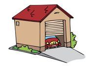 Suche abschließbare Garage in 73033
