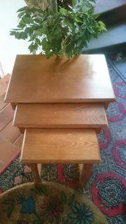 3er Tischset aus Holz