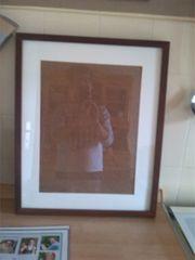 2 Holzbilderrahmen