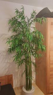 Kunstpflanze Bambus ca 2m hervorragender