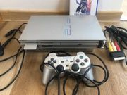 Sony PlayStation PS 2 Silber