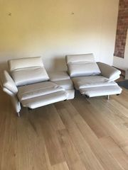 exclusives neues Ledersofa 2 Sitzer
