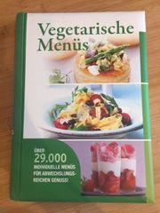 Kochbuch Vegetarische Menüs ISBN 978-3-8174-9364-7