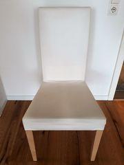 Weißer Ikea Stuhl zu verschenken