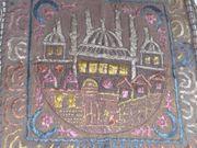 Kleiner Wandbehang mit Moscheeabbildung