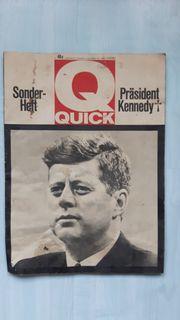 Originalheft Kennedy 1962