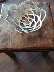 Designer Schale Metall Obstschale