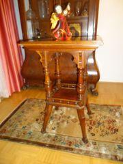 Telefontisch Beistelltisch Tisch Holz