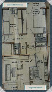 SONNIGE - ZENTRALGELEGENE 3-Zimmerwohnung